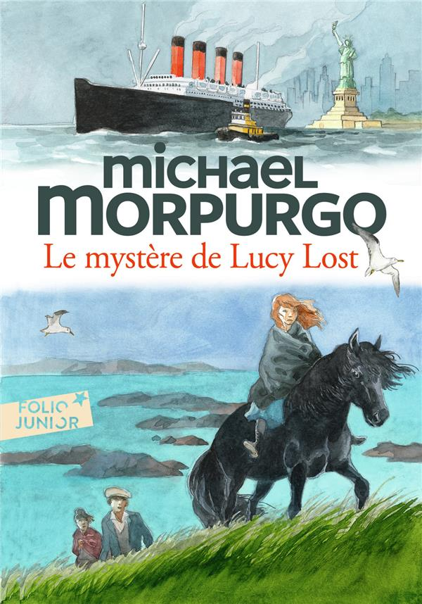 FOLIO JUNIOR - LE MYSTERE DE LUCY LOST